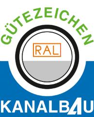 Für die Herstellung und Instandhaltung von Abwasserleitungen und -kanälen nach Güte- und Prüfbestimmungen wurde Lahrmann mit dem Gütezeichen RAL Kanalbau zertifiziert.